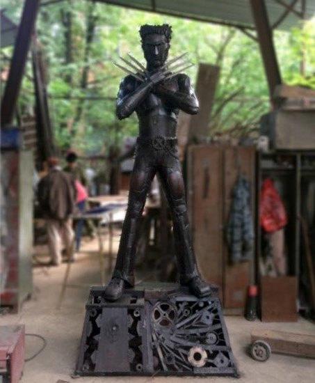 В Измайловском кремле появится статуя Росомахи. Изображение № 1.