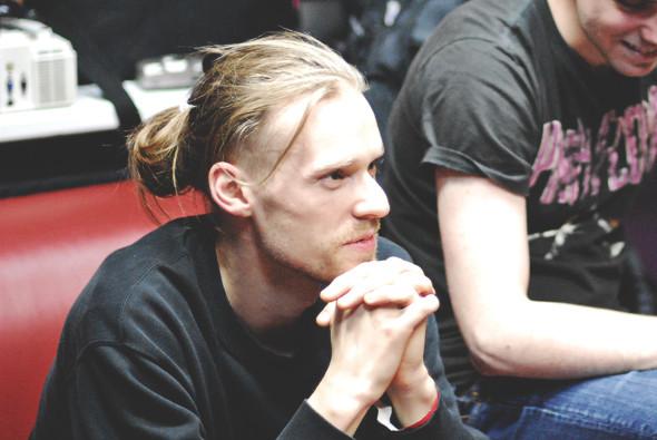 Паша, барабанщик группы USSSY. Изображение № 21.
