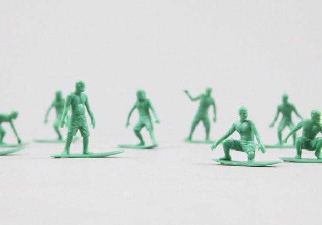 Американский производитель солдатиков выпустил игрушечных скейтеров. Изображение № 2.