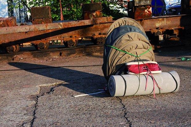 Датский дизайнер создала рюкзак-убежище. Изображение № 2.