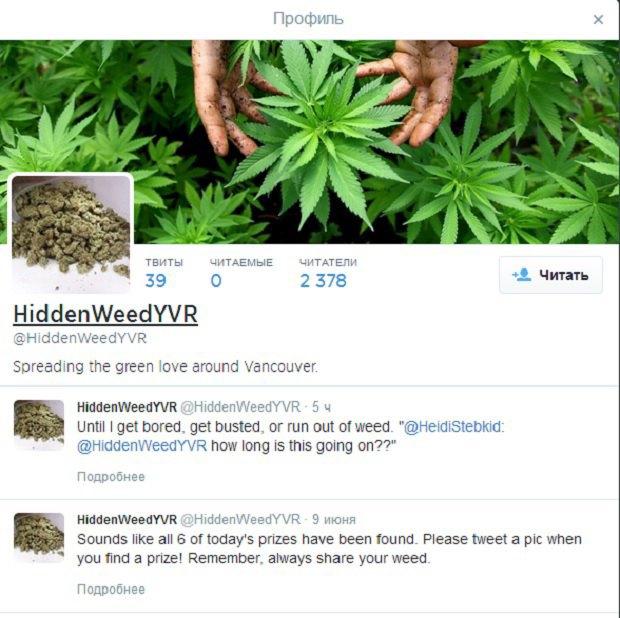 В Канаде появился марихуановый Робин Гуд. Изображение № 1.