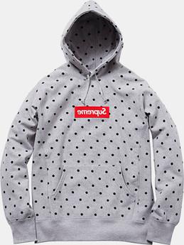 Марки Supreme и Comme des Garсons Shirt выпустили лукбук совместной коллекции одежды. Изображение № 11.