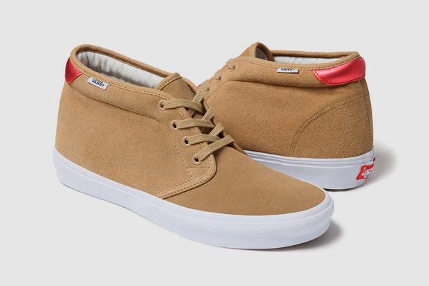 Марки Supreme и Vans выпустили совместную коллекцию обуви. Изображение № 7.