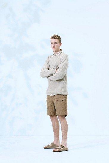 Марка Norse Projects опубликовала лукбук весенней коллекции одежды. Изображение № 12.