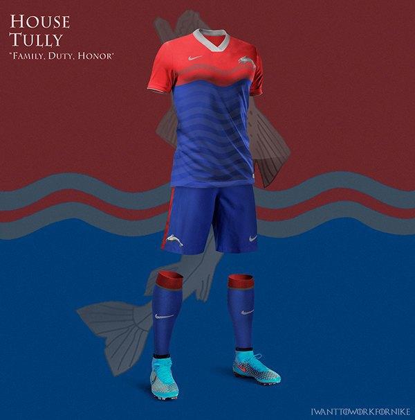 Испанский дизайнер создал футбольную форму для «Игры престолов» . Изображение № 6.