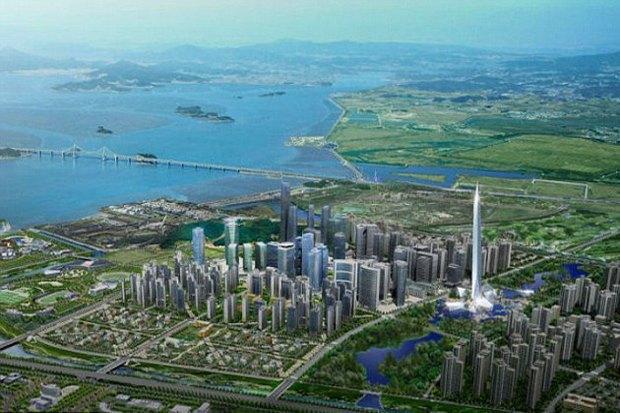 В Южной Корее построят невидимый небоскреб. Изображение № 3.