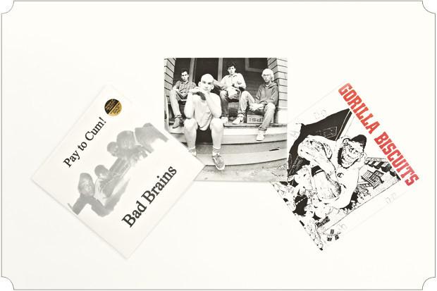 Пластинки покупаю все реже и реже, зато более избирательно, нежели раньше. Недавно получил в подарок от папы винил «Морская» группы «Мумий Тролль». Еще у меня есть коллекционное издание «Pay to Cum» группы Bad Brains на оранжевой сорокопятке.. Изображение № 10.