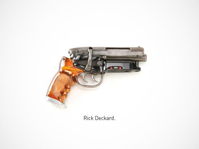 Итальянский дизайнер представил коллекцию плакатов знаменитого оружия. Изображение № 24.