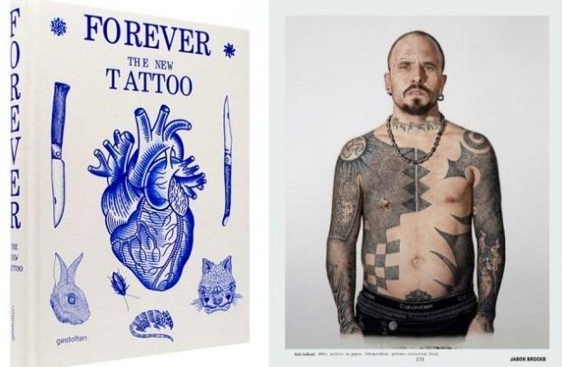 Выходит новая книга о культуре татуировок «Forever: The New Tattoo». Изображение № 1.