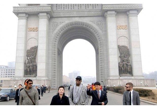 Деннис Родман поделился фотографиями из КНДР. Изображение № 2.
