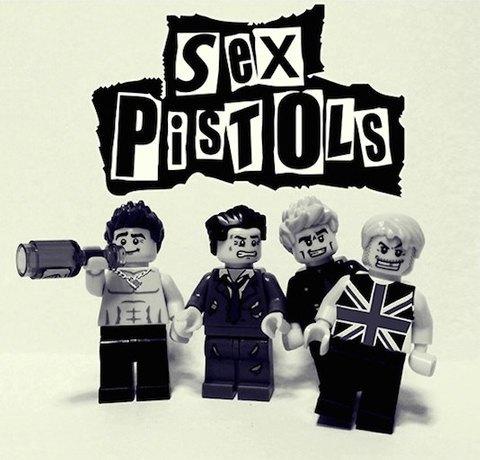 Lego-go: Культовые группы в виде фигурок из конструктора LEGO. Изображение № 16.