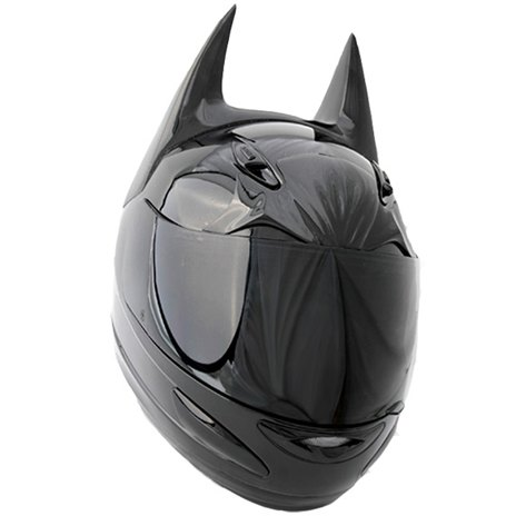 Компания Helmet Dawg спроектировала мотошлем по мотивам «Бэтмена». Изображение № 1.