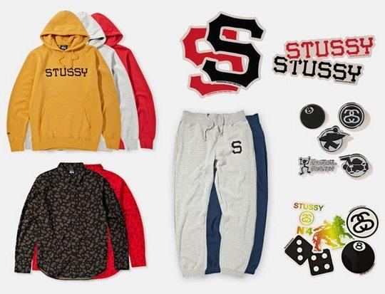 Марка Stussy выпустила лукбук новой коллекции одежды своей линейки Holiday. Изображение № 16.