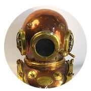 Находка недели: Винтажный водолазный шлем. Изображение № 7.
