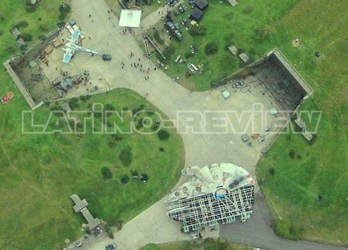 Дрон сделал фото военной базы со съёмок «Звёздных войн» . Изображение № 2.