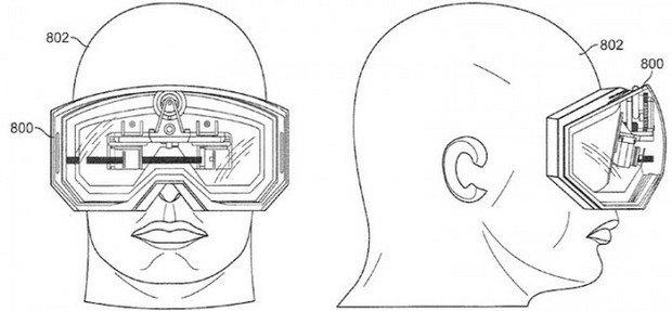 Apple запатентовала очки виртуальной реальности. Изображение № 1.