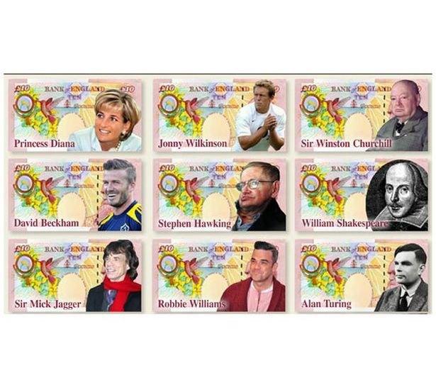 The Beatles и Мик Джаггер могут попасть на 10-фунтовую банкноту. Изображение № 2.