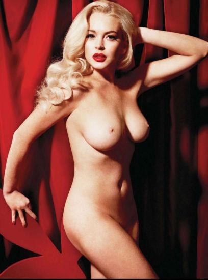 Актриса Линдси Лохан снялась для журнала Playboy. Изображение № 3.