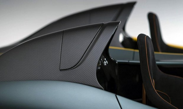 Aston Martin представил юбилейный спидстер CC100. Изображение № 12.