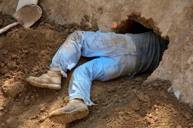 Мужчина прорыл тоннель из спальни своей жены в паб. Изображение № 1.