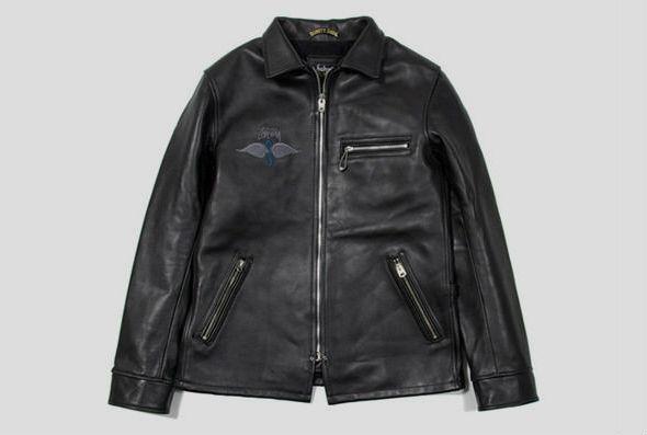 Капсульная коллекция курток марок Stussy и Schott. Изображение № 3.