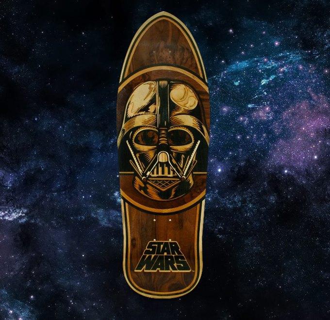 FURFUR и скейт-шоп «Сквот» разыгрывают лимитированную деку Santa Cruz x Star Wars. Изображение № 1.