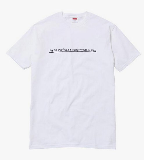 Supreme выпустили коллекцию одежды с работами Жан-Мишеля Баския. Изображение № 6.