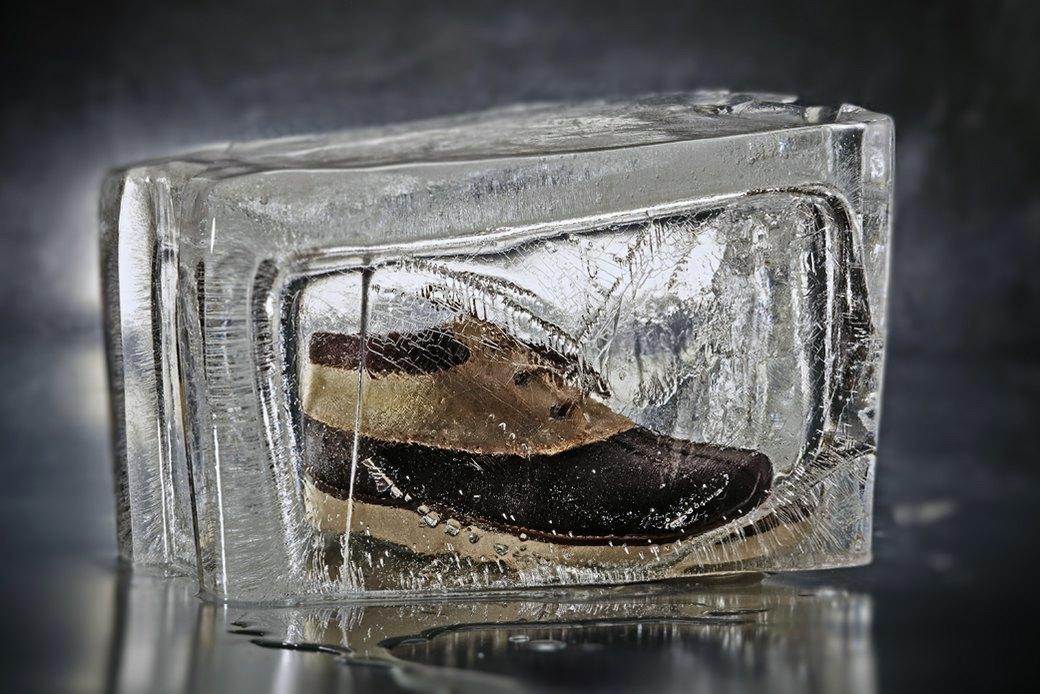 Тест-драйв зимних ботинок в кубах льда. Изображение № 4.