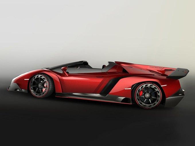 Lamborghini представили новый родстер Veneno. Изображение № 2.