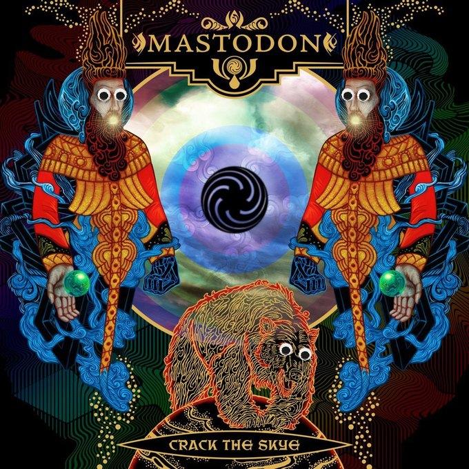 Metal Albums with Googly Eyes: Блог смешного кастомайзинга альбомов тяжёлой музыки. Изображение № 1.