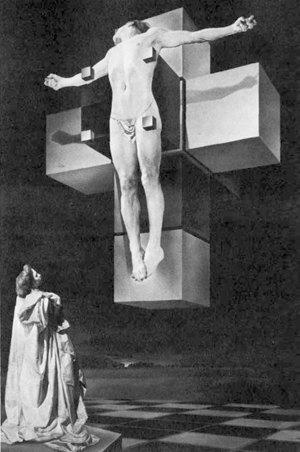 «Распятие, или Гиперкубическое тело», Сальвадор Дали . Изображение № 7.