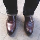 Монк Ами: Мужские туфли на застежке. Изображение №15.