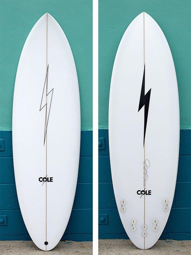 Вышла лимитированная коллекция сёрфов Lightning Bolt x Cole Surfboards . Изображение № 3.