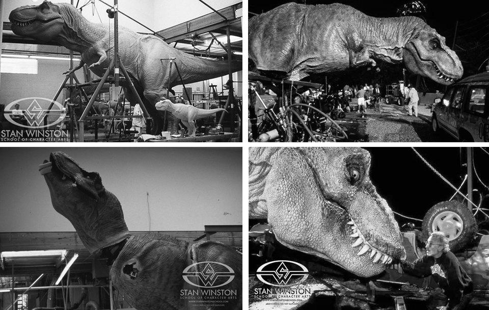 Как создавали тираннозавра для «Парка Юрского периода». Изображение № 5.