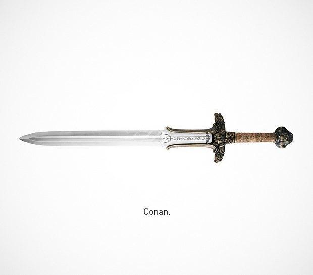 Итальянский дизайнер представил коллекцию ножей знаменитых персонажей. Изображение № 36.