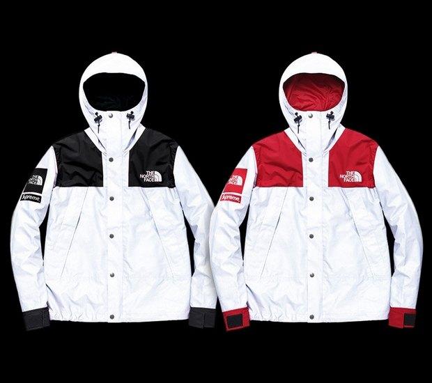 Марки Supreme и The North Face представили совместную коллекцию одежды. Изображение № 9.