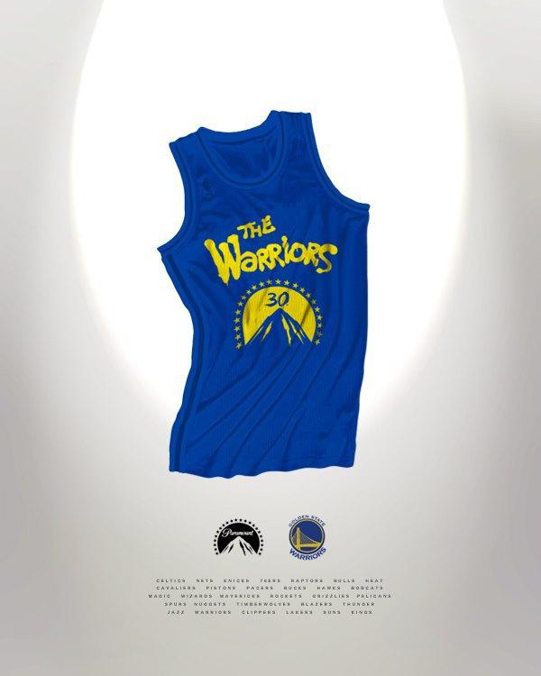 Канадский дизайнер представил, как бы выглядела форма NBA в исполнении культовых брендов. Изображение № 18.