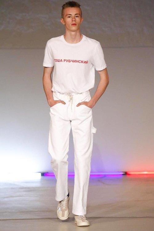 Гоша Рубчинский показал новую коллекцию на Неделе моды в Париже. Изображение № 22.