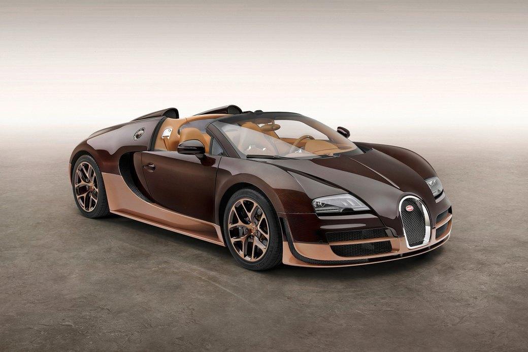 Бугатти показала новый Veyron Grand Sport Vitesse, посвященный брату основателя компании. Изображение № 1.