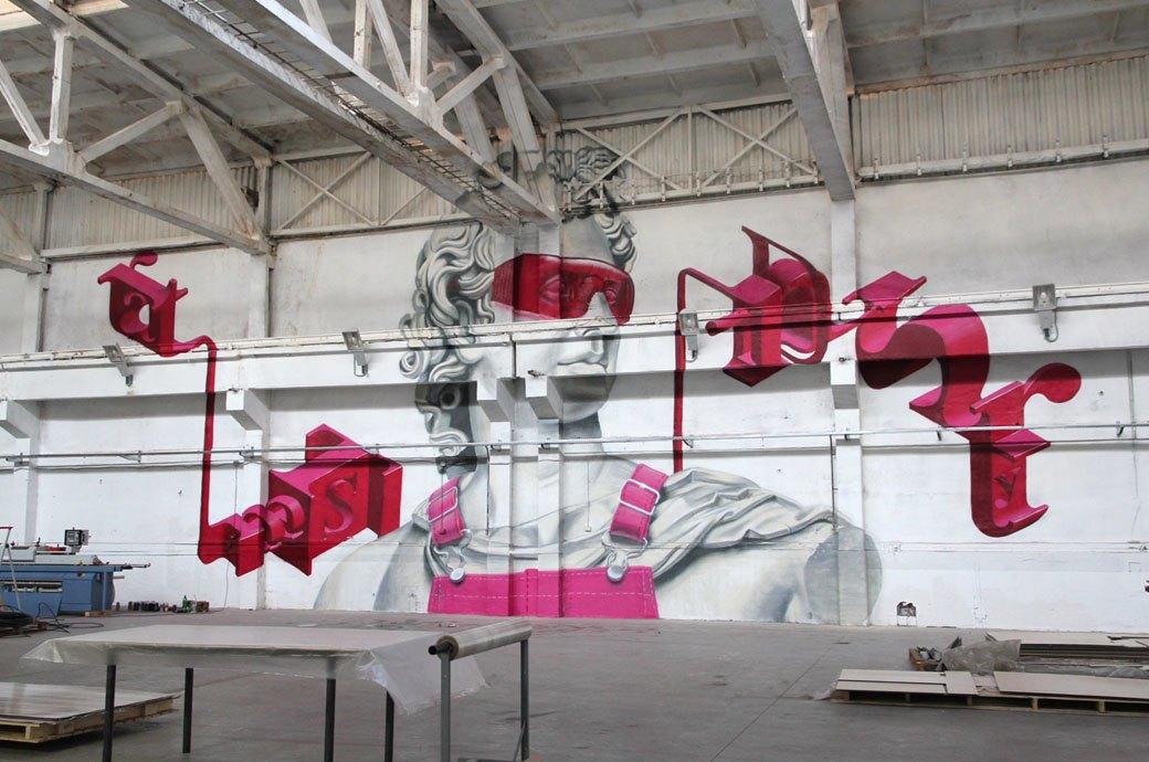 Для чего в Питере открыли музей уличного искусства и чьи работы там будут показывать. Изображение № 10.