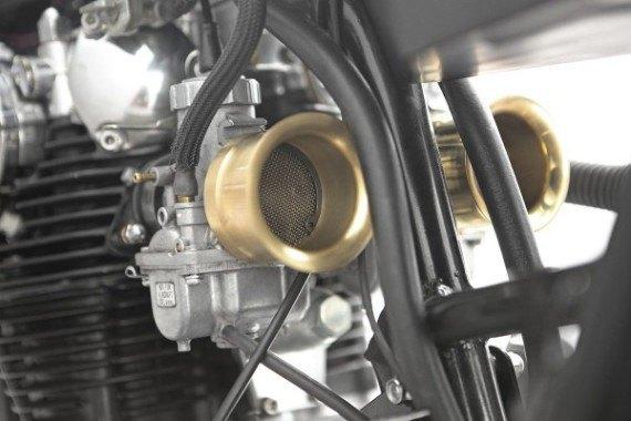 Мотомастерская Thrive Motorcycle представила каферейсер на базе Yamaha XS650 . Изображение № 14.