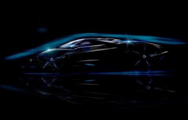 Тизерное изображение самого быстрого в мире гиперкара компании Rotary Supercars. Изображение № 1.