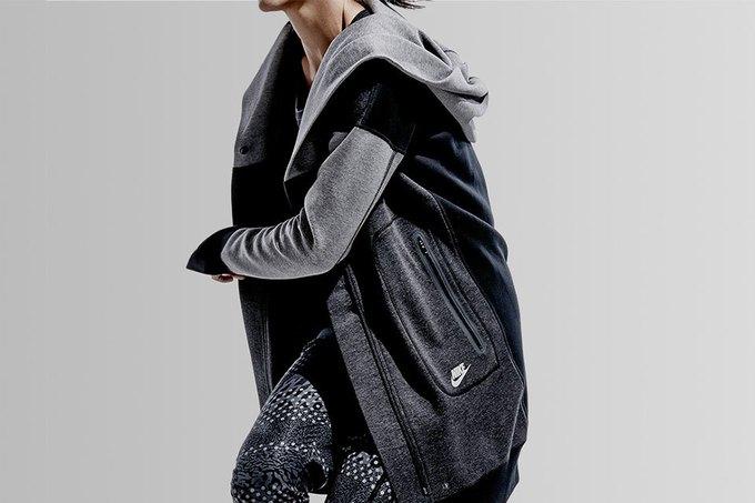 Nike представила коллекцию одежды из высокотехнологичного флиса. Изображение № 2.