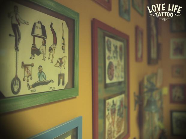 Репортаж из нового помещения Love Life Tattoo. Изображение № 7.