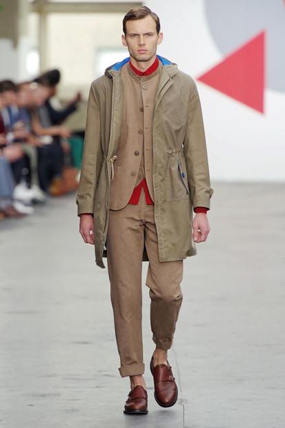 Марка Oliver Spencer выпустила летнюю коллекцию одежды. Изображение № 4.
