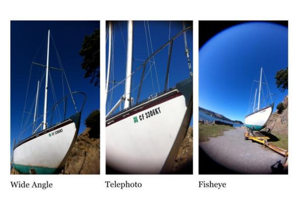 Корпус для iPhone с тремя фотообъективами. Изображение № 2.