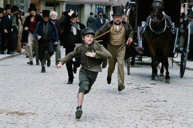 Кадр из фильма Романа Полански «Оливер Твист» 2005 года. Изображение № 1.