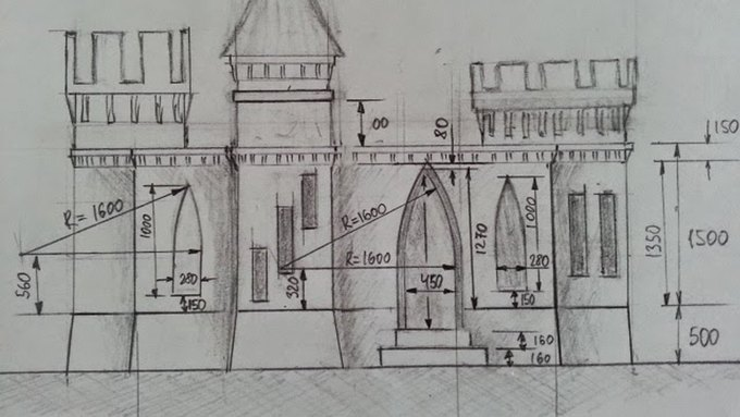 Русский из Миннесоты почти закончил строительство замка с помощью 3D-принтера. Изображение № 5.