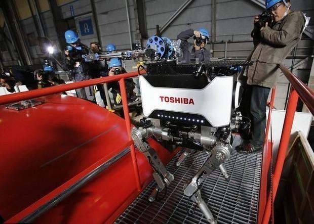 Японцы создали робота, выдерживающего радиацию. Изображение № 1.