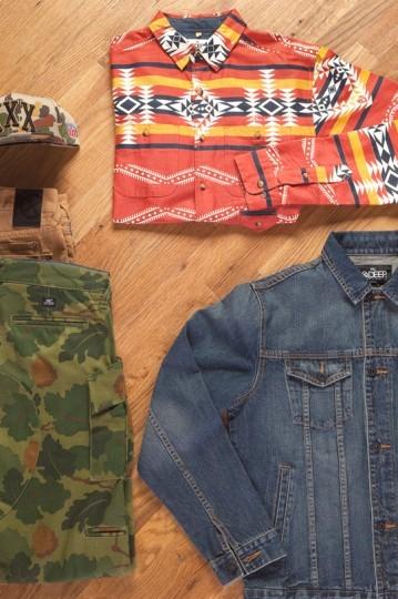 Американская марка 10.Deep выпустила лукбук весенней коллекции одежды. Изображение № 14.